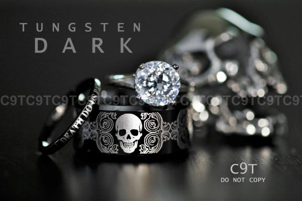 C9t Tungsten Official Site Mens Engagement Rings