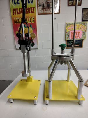 Manual Lever Smasher with Slicer and Stand