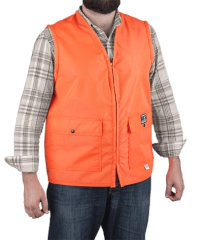 DAN'S HEAVY DUTY BLAZE ORANGE VEST