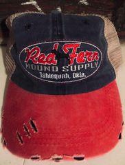 'Merica Red Fern Trucker Hat