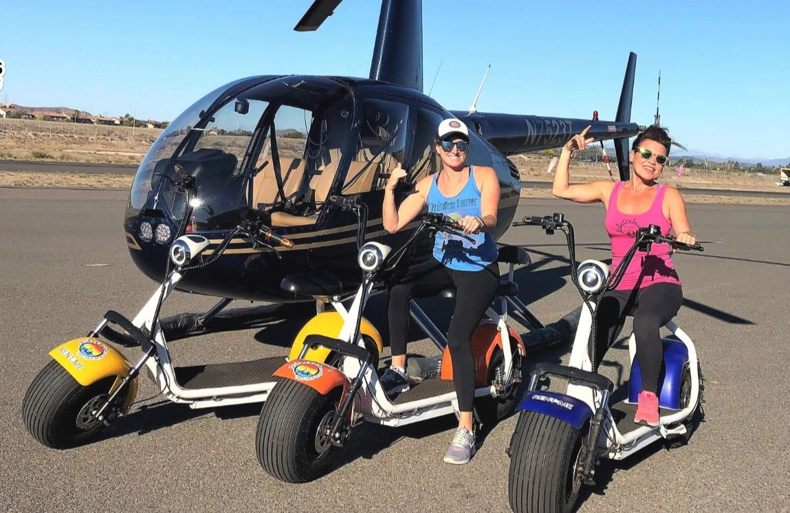 Things to do in Oceanside Ca.  Bike & Helicopter Tours Waverider Helicopter Tours