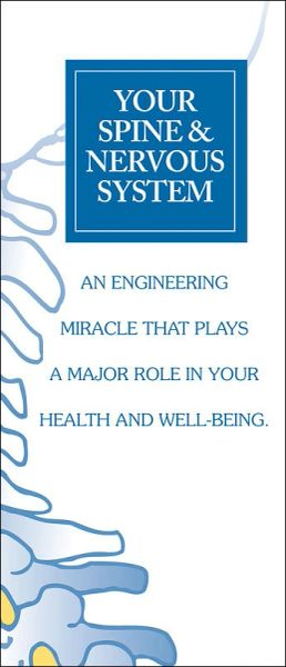 Your Spine and Nervous System Brochure (1 x FREE* SAMPLE)