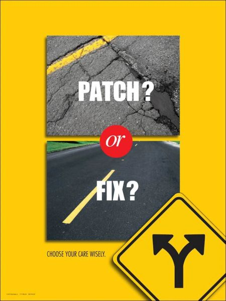 Patch or Fix Poster