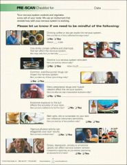 CLA PreScan Checklist (1 x FREE* SAMPLE)