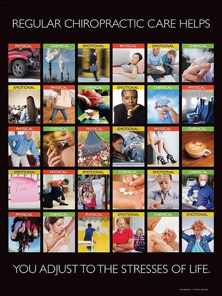 "Regular Chiropractic Care Poster (18"" x 24"")"