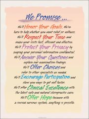 """We Promise Poster (18"""" x 24"""")"""
