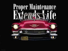 "Proper Maintenance Poster (18"" x 24"")"