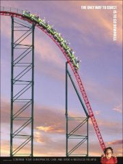 """Roller Coaster Poster (18"""" x 24"""")"""