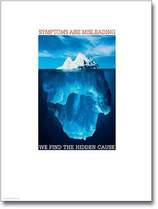 "Iceberg Poster (18"" x 24"")"