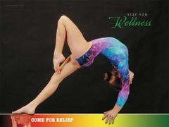 "Balance Beam Poster (18"" x 24"")"