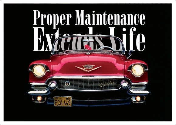 Proper Maintenance Postcard (1 x FREE* SAMPLE)