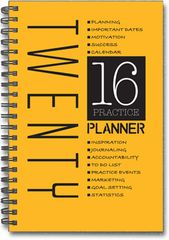 Year Planner / Chiropractic Diary (2016)