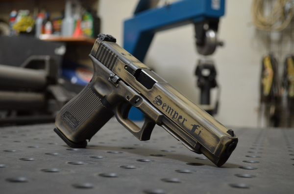 Cerakote Usmc Distressed Glock 34 Mos Gen 5 X Werks Fu X Werks The g34, long slide, is very popular with competitive shooters and the gen5 features will be a welcome glock has made the g34 gen5 available only in mos configuration, according to shane cooley, captain of team glock. x werks glock 34 gen 5 mos 9mm 3 17rd custom fu distressed