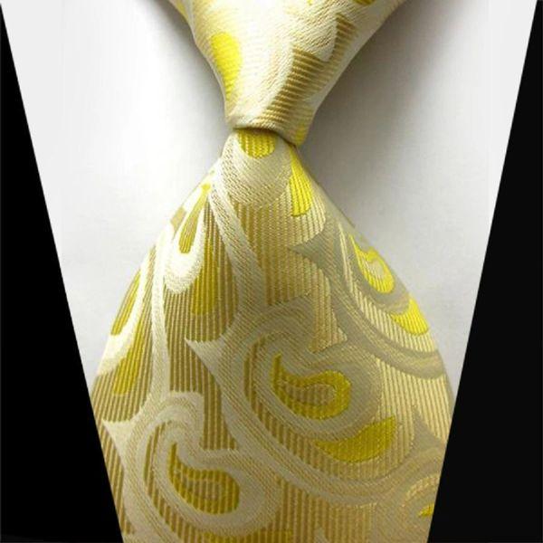 Men's Golden Fashion Tie
