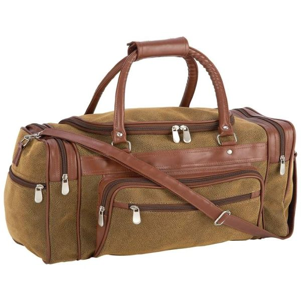 23' traveling Tote in Faux Leather