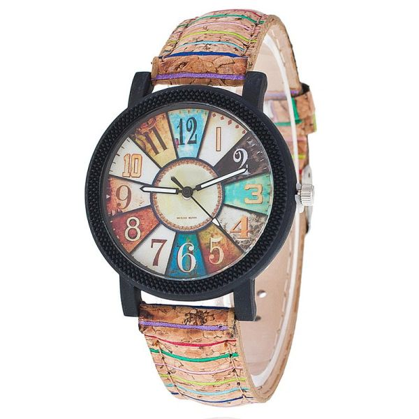 904256 Cork Time Piece Watch