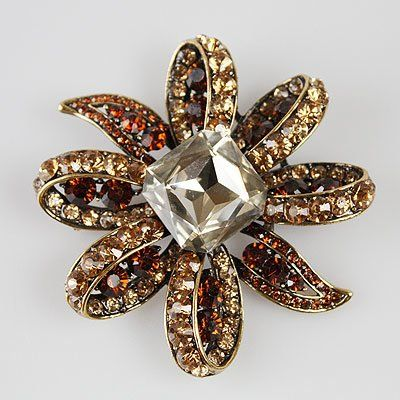 2227202 Jewel of the Nile Topaz Brooch