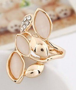 DL25329078 Genuine Opal Accent Ring