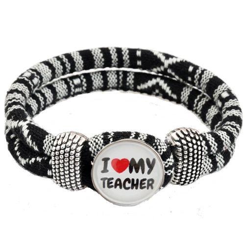 Inspirational Bracelet - I Love My Teacher