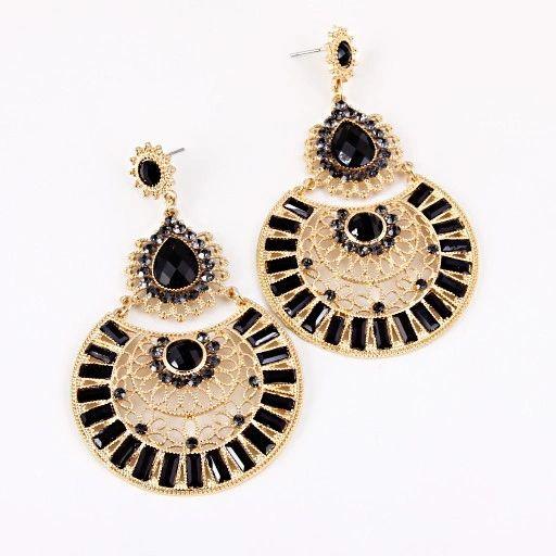 Spanish Style Hollow Earrings