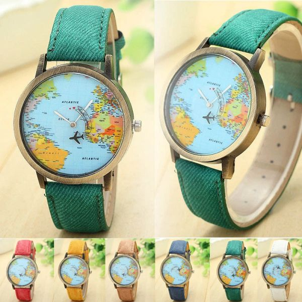 532167 Explore the World Wristband Watches