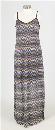 27041 Chevron Maxi Dress