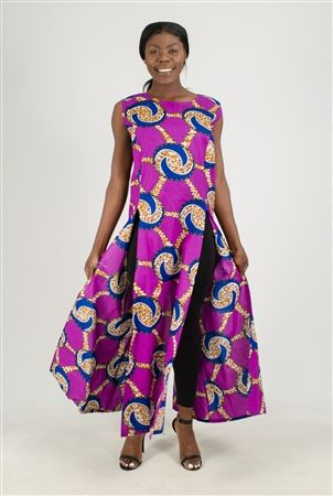 Authentic African Fashion Duster