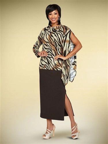 Casuals - Animal Design Skirt Set