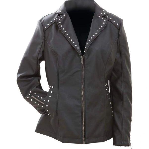 3295 Studded Leather Jacket