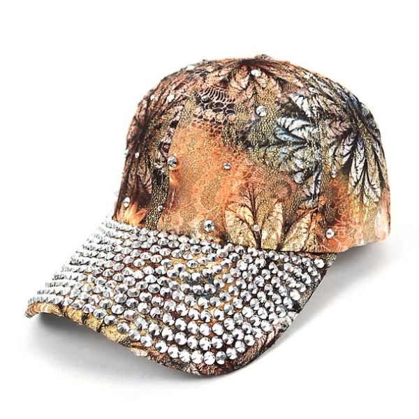 9588 Bling Bronze Multi Studded Cap