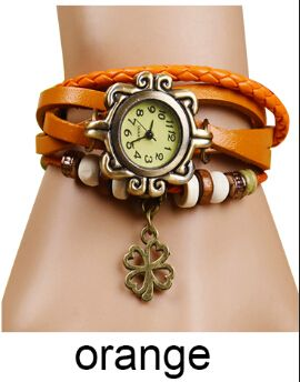 DL532140 Vintage Flower Pendant Quartz Watch