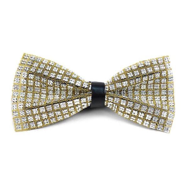 1202 Rhinestone Bow Tie