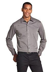 042 Van Heusen Slim Tall Striped Shirt