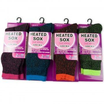 0658 Heated Thermal Socks
