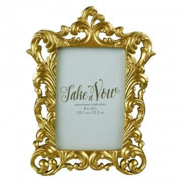 0267 Gold Scroll Picture Frame