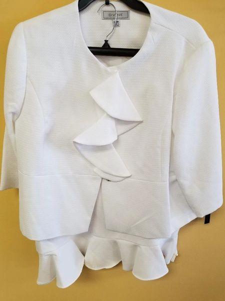 1224 D. Vine Ruffle 2 Pc. Suit