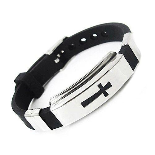 DL432113 Cross Men's Bracelet