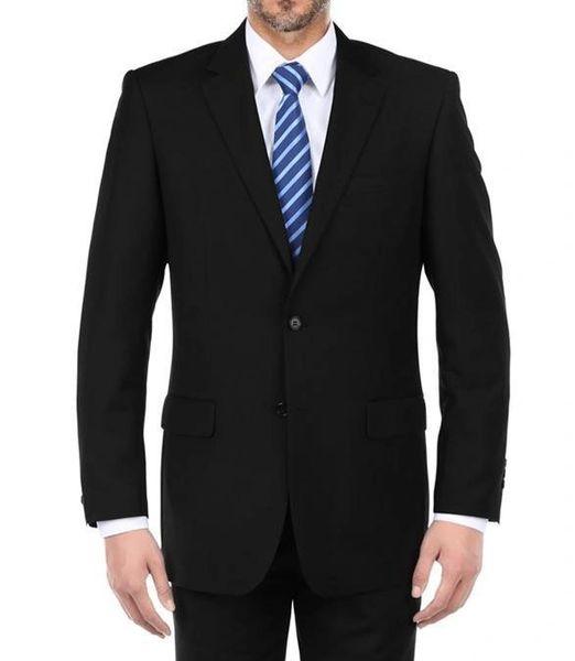 002 Classic Black Men Suits