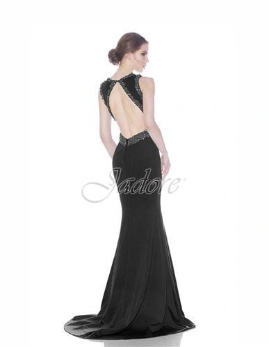 Jadore Evening Embellish V- Front Gown