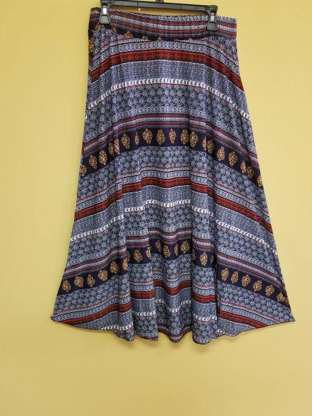 002 Maxi Print Skirts
