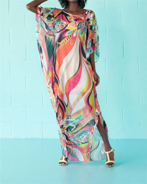 532999 Beach Multi Color Cover up