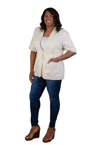 Ann Gerlin Linen Jacket