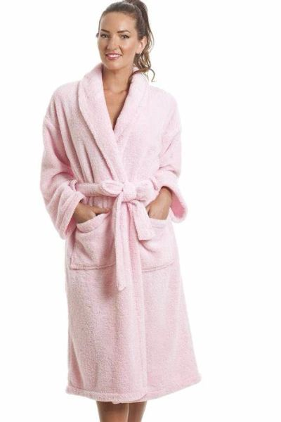 Ladies Fleece Robe