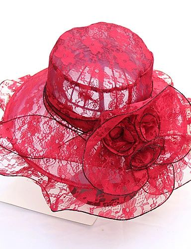 Red Hat in Lace