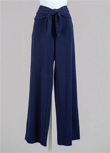 51121 Front Tie Pant