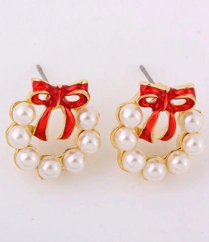 Holly Post Earrings