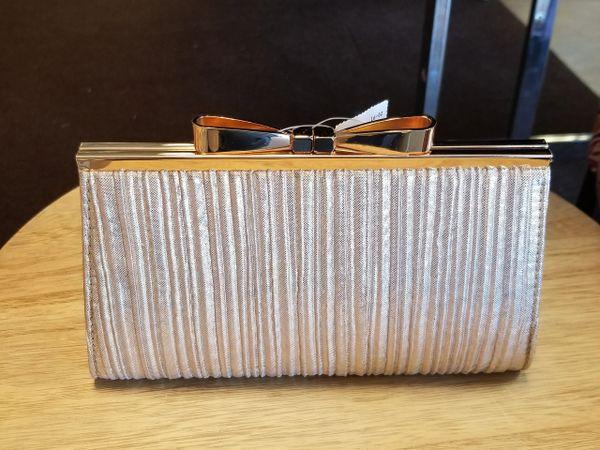 Bling Stripe Evening Handbag