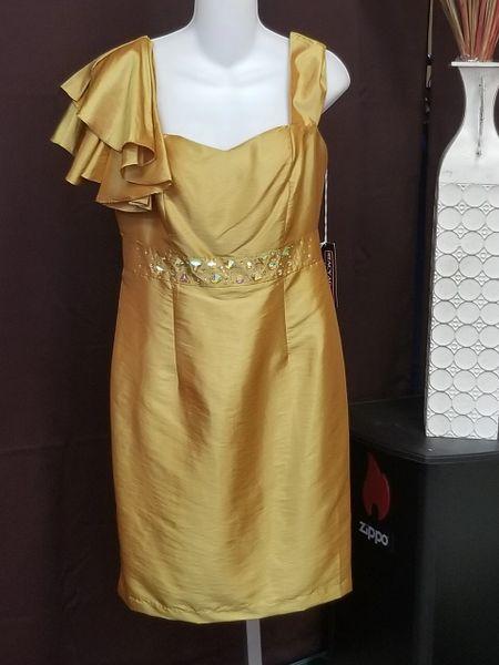 Stacy Adams Embellished Formal Dress