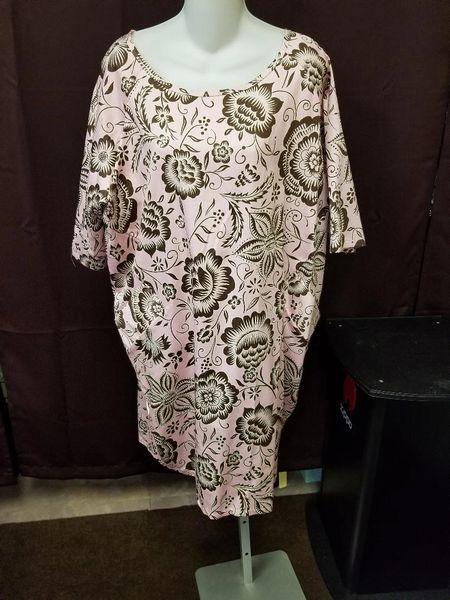 Ducci Pink/Brown Tunic Dress