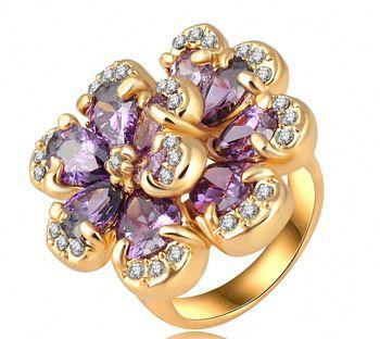 Genuine Swarovski Stone Accent Ring